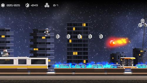 لعبة Atom Run قم بمساعدة الروبوت