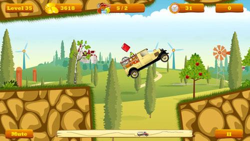 لعبة Truck Go لخوض تحدي إيصال الطرود