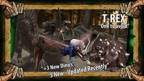 تطبيق Dinosaur Safari Pro رحلات في عالم الديناصورات