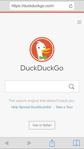 تطبيق Faux Browser للتصفح وحماية الخصوصية