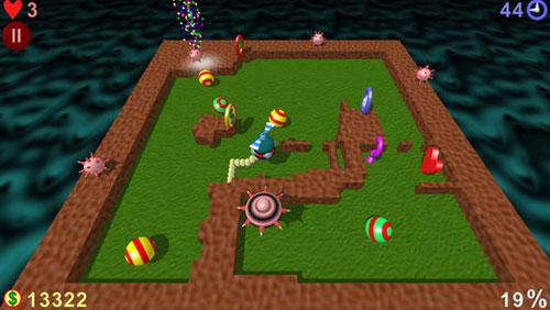 لعبة AirXonix الكلاسيكية المميزة في تصميم ثلاثي الأبعاد - الكثير من المتعة