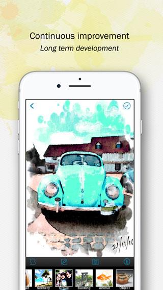 تطبيق Paintkeep Painting لتحويل صورك إلى رسوم زيتية