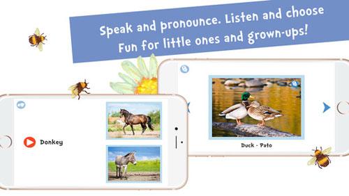 تطبيق Sami Tiny FlashCards لتعليم الأطفال 6 لغات مختلفة !
