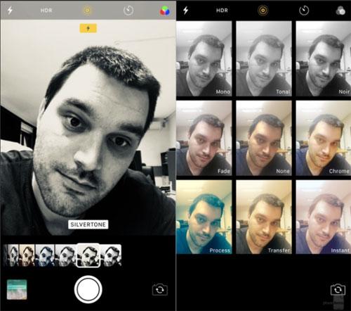 تطبيق الكاميرا iOS 11