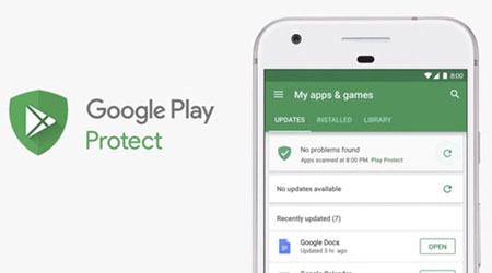 ميزة جوجل Play Protect تصل بشكل رسمي في عدة مناطق