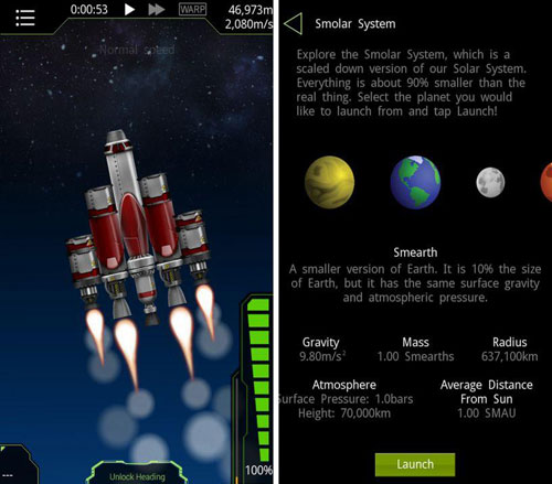 لعبة SimpleRockets لمحاكاة رحلات الفضاء - تخفيض كبير