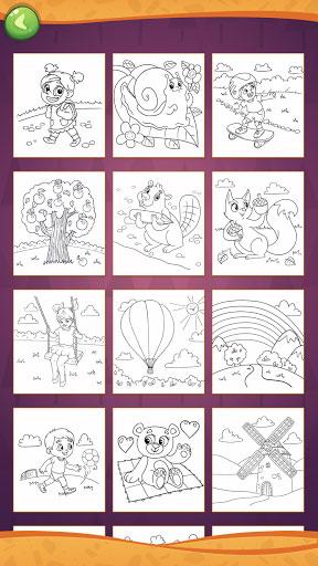 تطبيق Coloring Book for Creative Kids لتعليم الأطفال التلوين