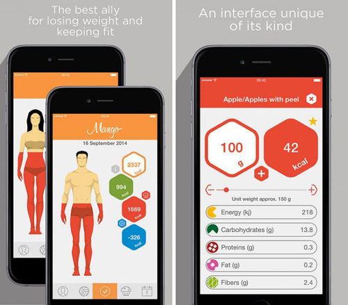 تطبيق Mango لمتابعة حالة جسمك اليومية