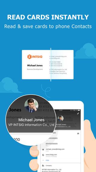 تطبيق CamCard لتحويل بطاقات الأعمال إلى جهات اتصال