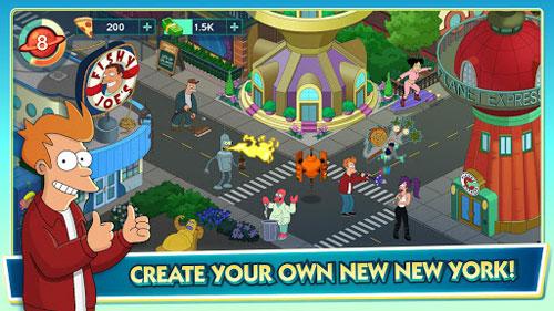 لعبة Futurama: Worlds of Tomorrow تصل بمزيد من المتعة