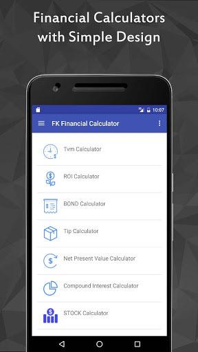 تطبيق FK Financial Calculator Pro للتحويل بين الوحدات