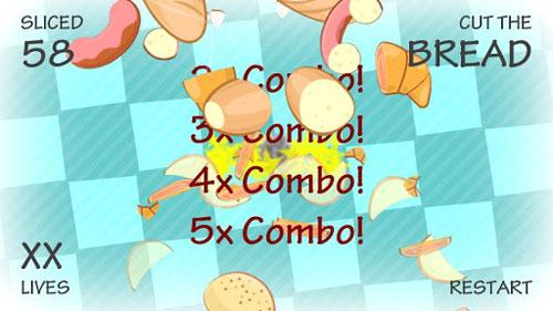 لعبة Bread Ninja لتقطيع الخبز والكعك