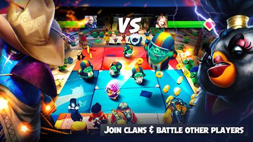 لعبة Angry Birds Evolution تعود بطريقة لعب جديدة