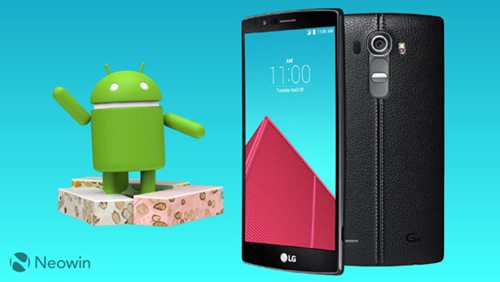 هاتف LG G4 يحصل على تحديث Android 7 Nougat !