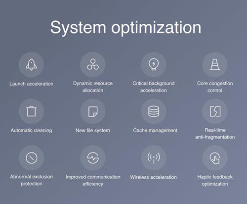 تحسينات في أداء النظام