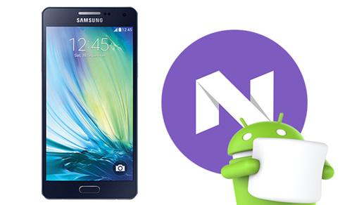 هاتف Galaxy A5 (2016) يحصل على تحديث Android 7 Nouagt