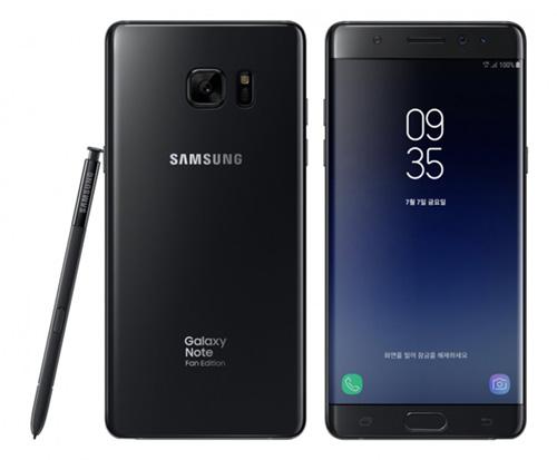 من جديد ، سامسونج تكشف رسمياً عن هاتف Galaxy Note 7 FE !