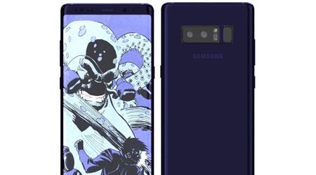 هاتف جالكسي Note 8 سيتوفر بنسخة ذات 8 جيجا رام و256 ذاكرة تخزينية !