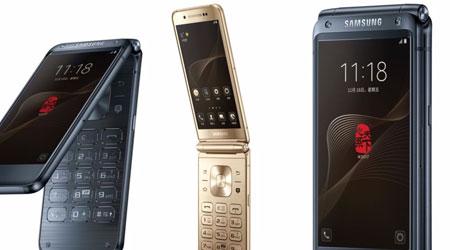 تسريب - هاتف سامسونج SM-W2018 القابل للطي سيأتي مع رام 6 جيجا !