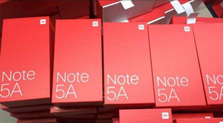 تسريب صورة هاتف Xiaomi Redmi Note 5A مع المواصفات التقنية !