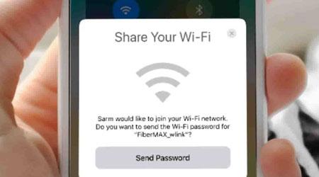 نظام iOS 11 - كيفية مشاركة كلمات مرور الوايفاي مع أصدقائك بسهولة !