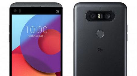 الإعلان رسمياً عن هاتف LG Q8 كنسخة مصغرة من هاتف V20 !