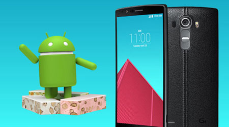 Photo of هاتف LG G4 يحصل على تحديث اندرويد 7 Nougat !