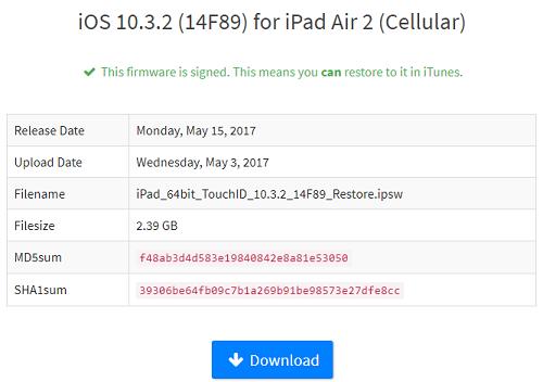 شرح الرجوع أو التحديث إلى الإصدار iOS 10.3.2 على الأيفون والأيباد