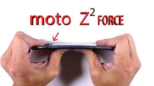 هاتف Moto Z2 FORCE يثبت أنه أنحف وأقوى هاتف ذكي !