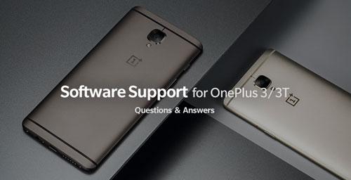 ون بلس تؤكد أن OnePlus 3/3T لن يحصلا على تحديثات بعد أندرويد 8.0
