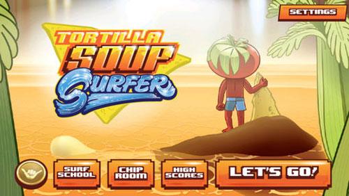لعبة Tortilla Soup Surfer لخوض مغامرة الطماطم