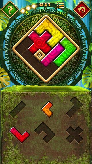 لعبة Montezuma Puzzle لمحبي ألغاز الألوان والأشكال