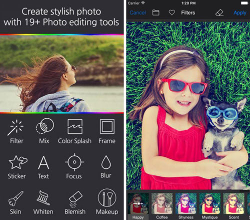 تطبيق Toast لتحرير الصور بمزايا احترافية