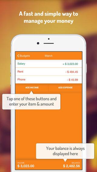 تطبيق Fudget لمتابعة مصاريفك اليومية