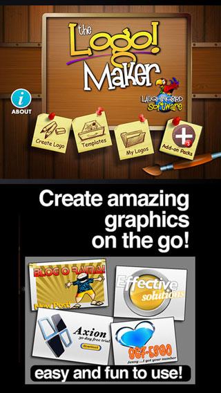 تطبيق Logo Maker لتصميم الشعارات والبطاقات