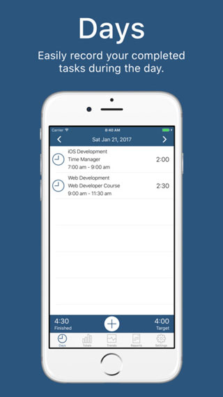 تطبيق Time Manager لإدارة أوقاتك ومهامك