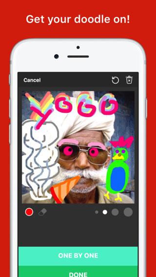 تطبيق Madhat لخربشة الصور بخربشات تفاعلية