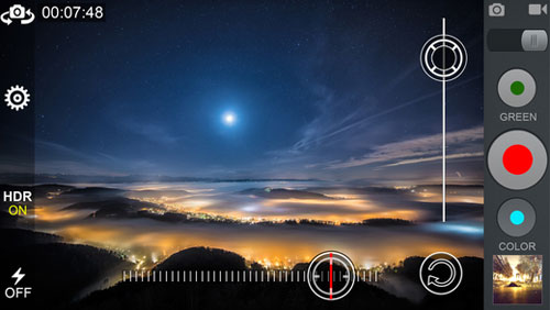 تطبيق Night Photo لالتقاط الصور وتسجيل الفيديو الليلية