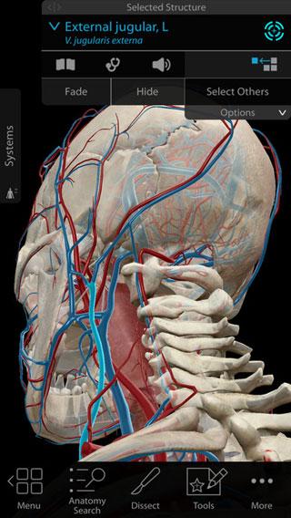 تطبيق Human Anatomy Atlas 2018 تشريح كامل جسم الانسان