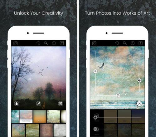 تطبيق Distressed FX لتحويل صورك إلى تحف فنية