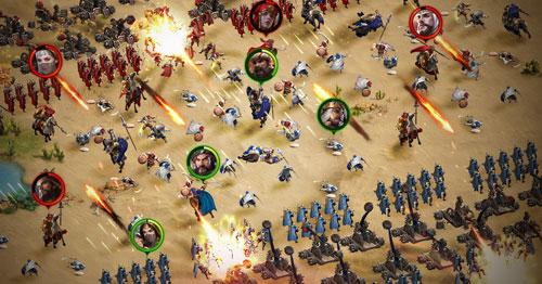 صراع العروش - لمحبّي وعشّاق ألعاب الحروب والمغامرة والتحدي