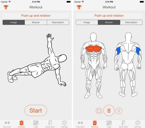 تطبيق Fitness Point دليلك لبناء العضلات