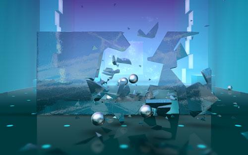 لعبة Smash Hit للتنفيس عن نفسك بتحطيم الزجاج !