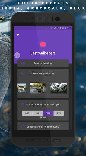 تطبيق CLARO Pro لتغيير خلفيات جهازك تلقائيا
