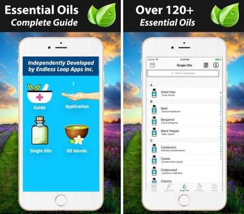 تطبيق Essential Oils مرجع كامل عن الزيوت