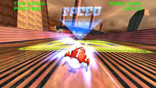لعبة AceSpeeder3 سباق المركبات المتطورة السريعة