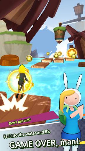 لعبة Adventure Time Run عش المغامرة والتحدي
