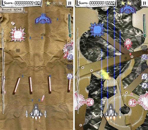 لعبة Shock-X لخوض حروب الطائرات الكلاسيكية