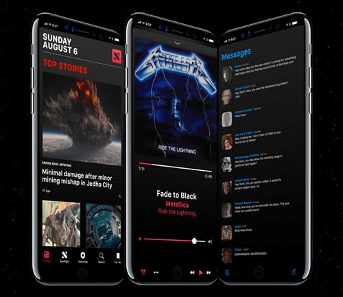 بالصور - كيف سيبدو هاتف آيفون 8 مع نظام iOS 11 و مزاياه الثورية ؟!