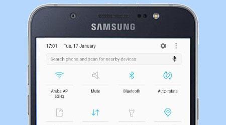 سامسونج تطلق تحديث الأندرويد 7.0 لهاتف جالكسي J7 نسخة 2016